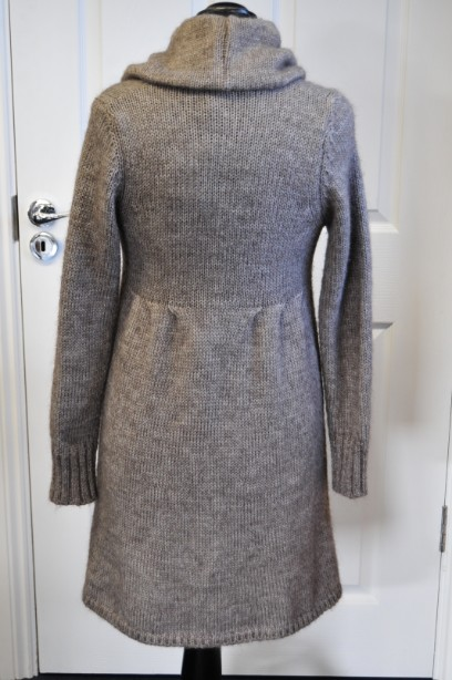 Women's Phase Eight Chunky Knit Cardigan in Taupe size M 5