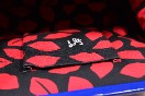 Rare Lulu Guinness Cobalt Blue Red Lips Patent Bag With Shoulder Strap Thumbnail 10