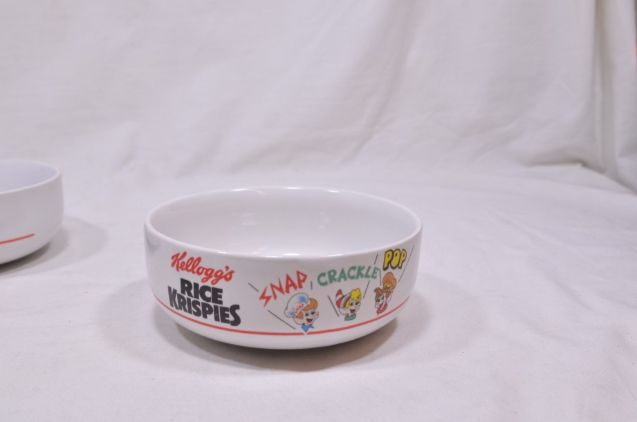 Kelloggs Cereal Bowl Set of 4 - Rice Krispies, Corn Flakes, Coco Pops, Special K 3