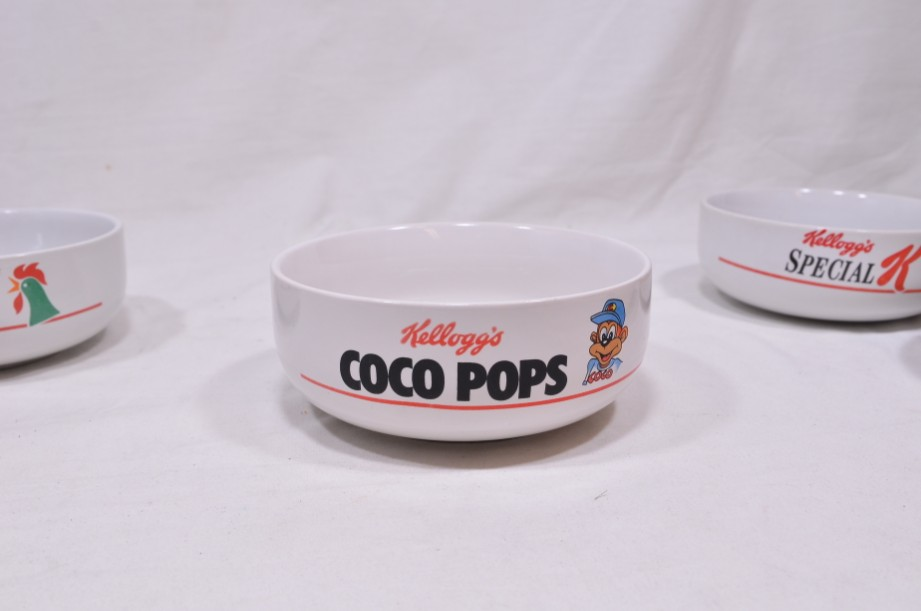 Kelloggs Cereal Bowl Set of 4 - Rice Krispies, Corn Flakes, Coco Pops, Special K 6