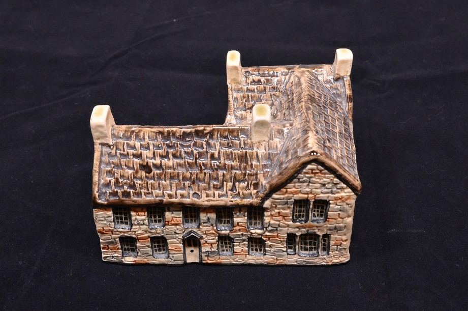 Tey Pottery 'The Bronte Parsonage' miniature