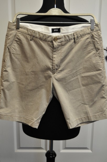 Men Hugo Boss Shorts in Stone Colour size UK 50
