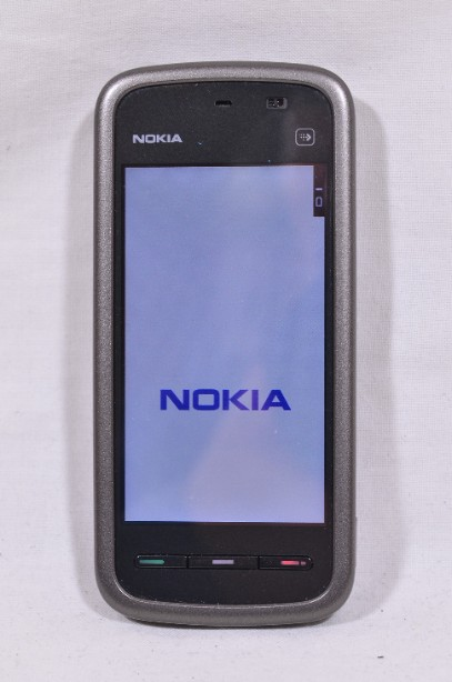 Nokia 5230 Mobile Phone with Sat Nav - Boxed - Black / Pink