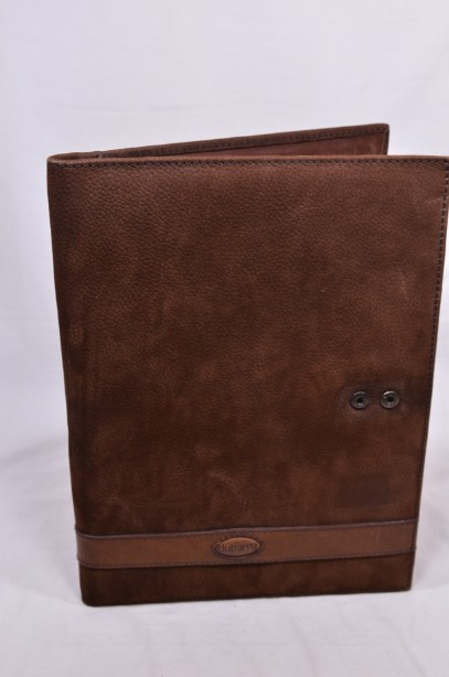 Dubarry Suede Leather Folio Kinvara A4 Folder Document Organiser with Dustbag