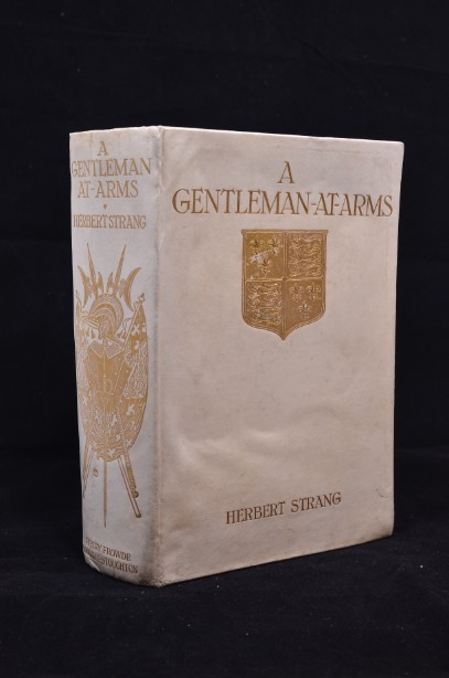 Rare  'A Gentleman At Arms '  Herbert Strang Limited Edition