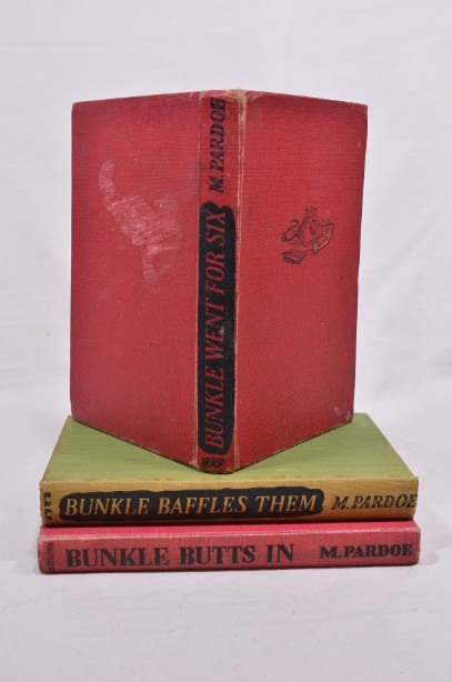 Set x3 'Bunkle' Books By M Pardoe