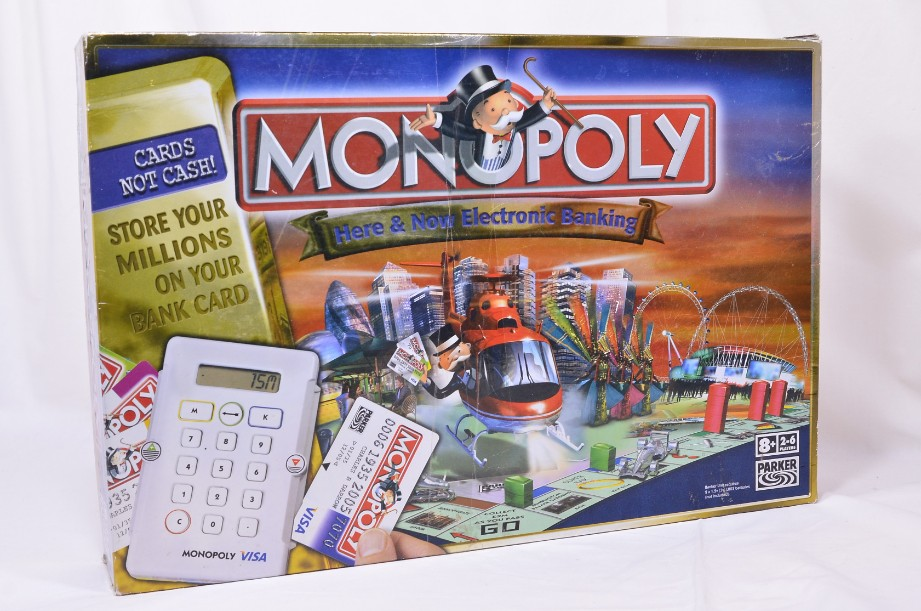 Monopoly Here and Now Electronic Banking game - 2006