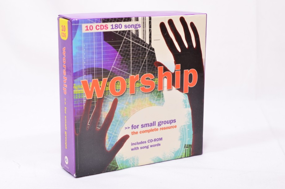 Boxed Set of 10 Worship CDs - 180 songs