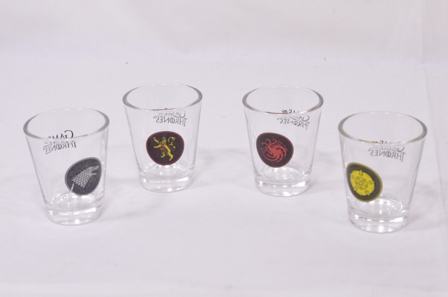 Games of Thrones Shot Glass Set boxed 2