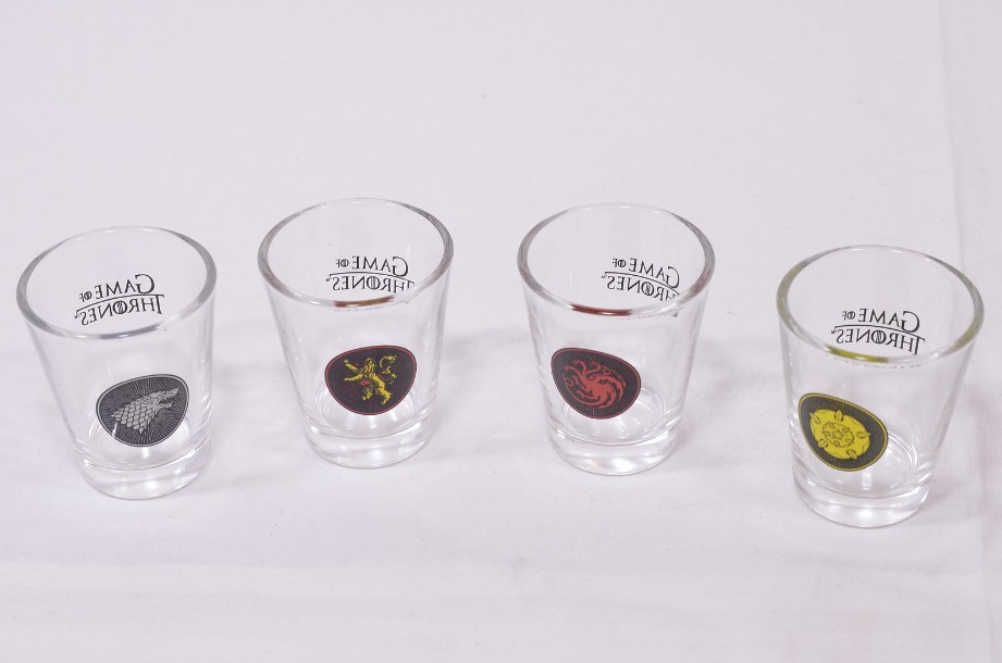 Games of Thrones Shot Glass Set boxed 5