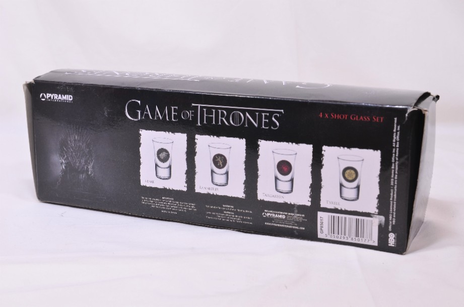 Games of Thrones Shot Glass Set boxed 8