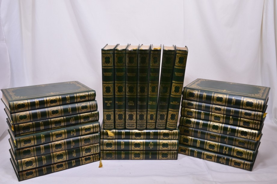 Catherine Cookson 24 volume Book Set - 1970s