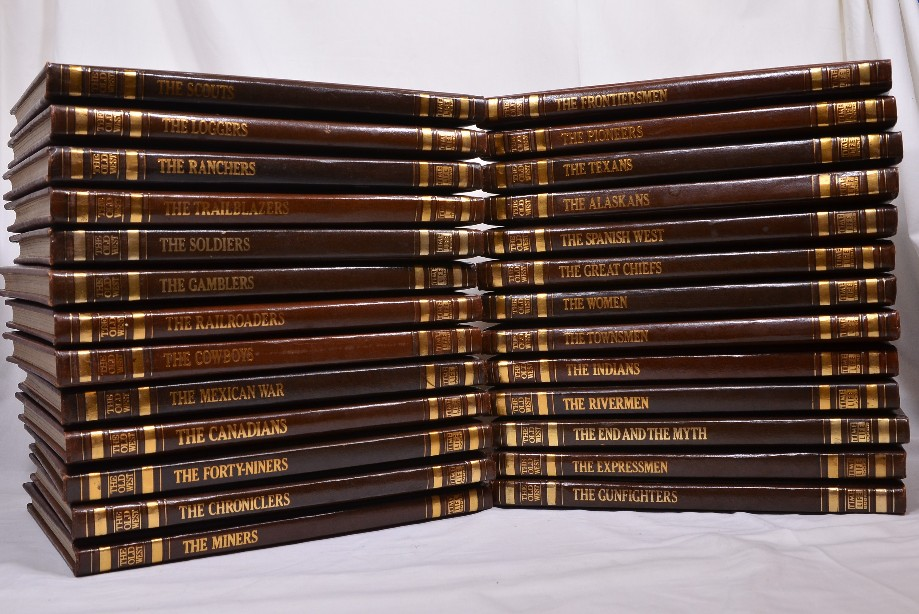 Time Life Books - The Old West Complete Set 26 volumes