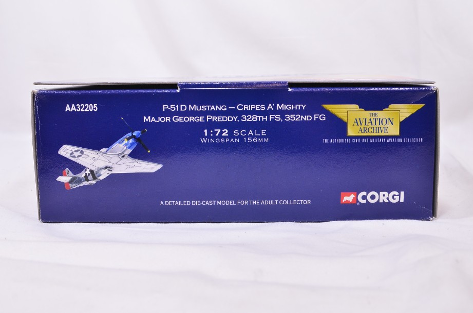 1:72 Corgi The Aviation Archive P51D Mustang - Cripes A' Mighty AA32205 4