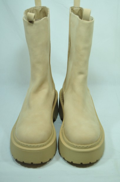 Missguided Sand Pull- on Boots Size 38