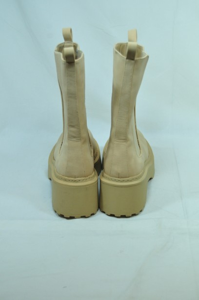 Missguided Sand Pull- on Boots Size 38 3
