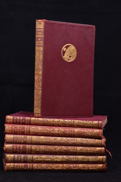 Rudyard Kipling Set of 7 Novels 1920-1930