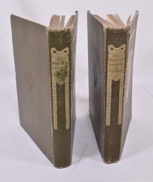 Rare H.C. Andersens Eventyr Og Historier' Volumes 1&2 1905 [Danish] 3