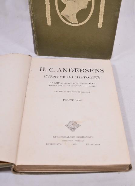 Rare H.C. Andersens Eventyr Og Historier' Volumes 1&2 1905 [Danish] 4