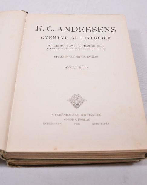 Rare H.C. Andersens Eventyr Og Historier' Volumes 1&2 1905 [Danish] 5