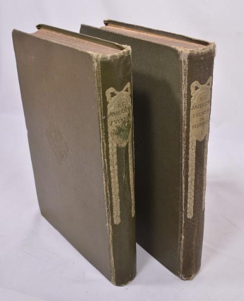 Rare H.C. Andersens Eventyr Og Historier' Volumes 1&2 1905 [Danish] 6