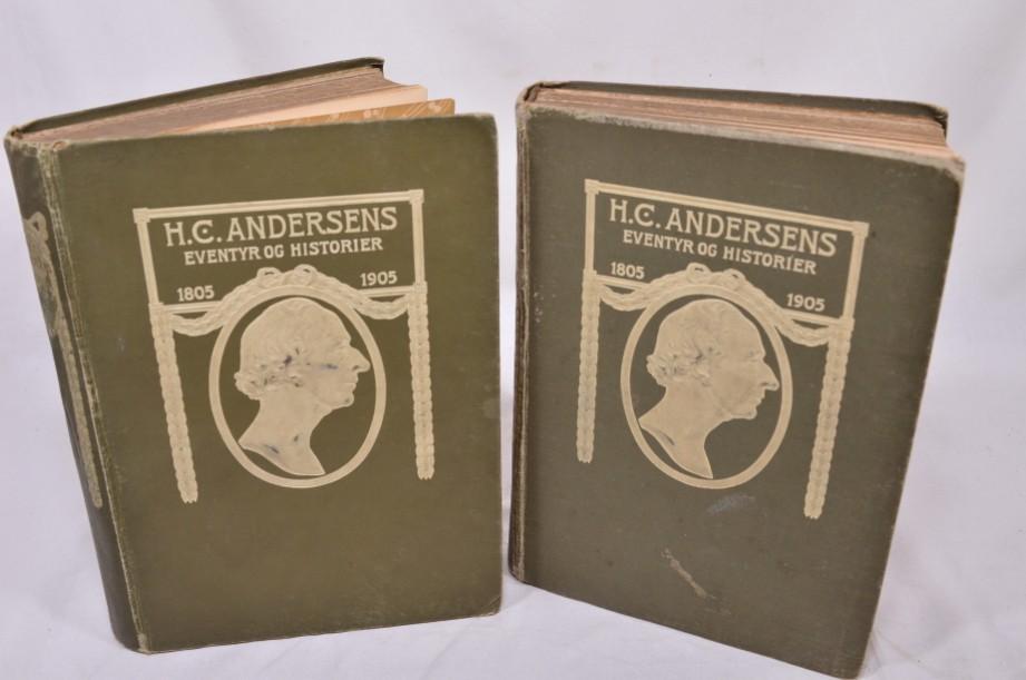 Rare H.C. Andersens Eventyr Og Historier' Volumes 1&2 1905 [Danish] 8