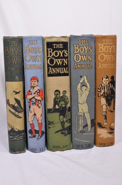 Vintage The Boy's Own Annual 5 book Set