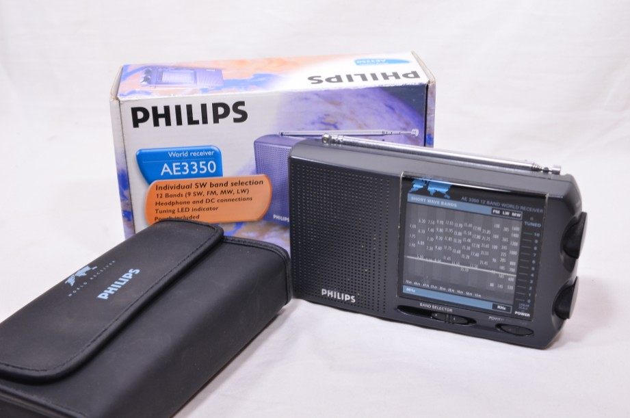 Philips AE3350 Portable 12 Band World Receiver SW/MW/LW/FM Radio​