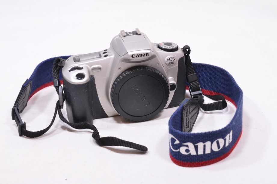 Canon EOS 300 SLR film camera body only - silver​