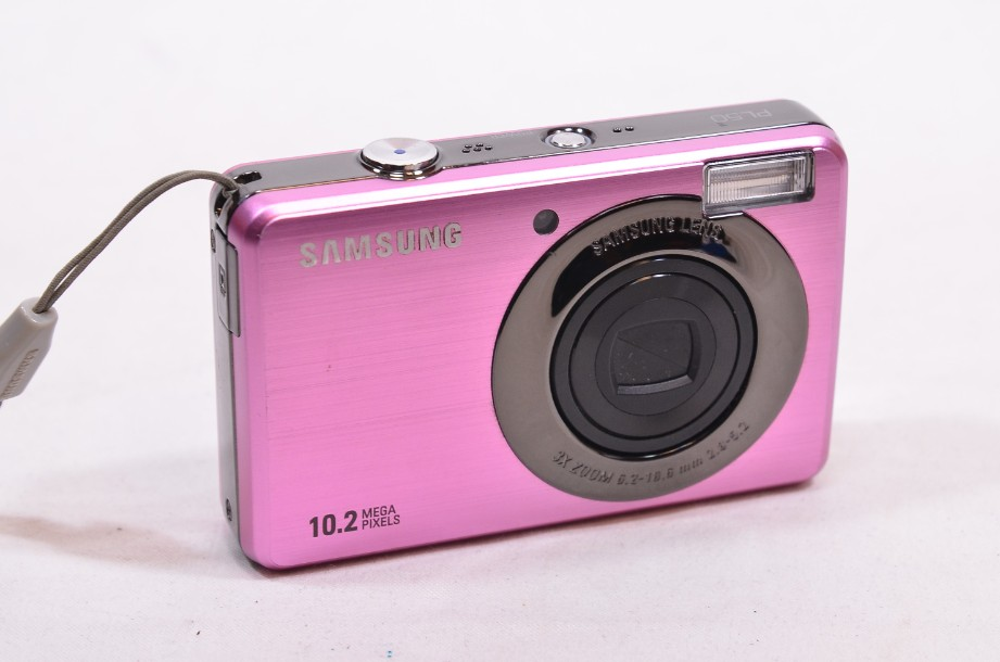 Samsung PL Series PL50 10.2MP Digital Camera - Pink