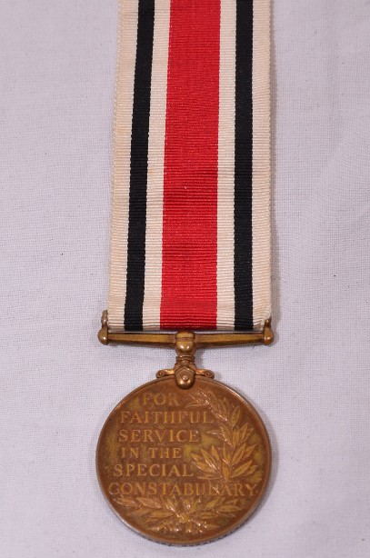 Special Constabulary Long Service WWI medal