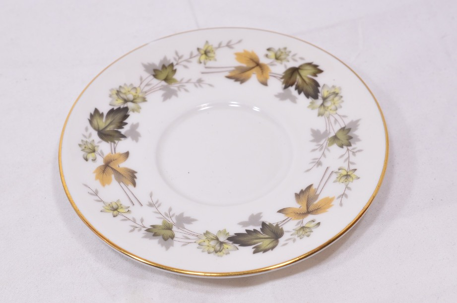 Royal Doulton Larchmont six-cup coffee can and saucer set 6