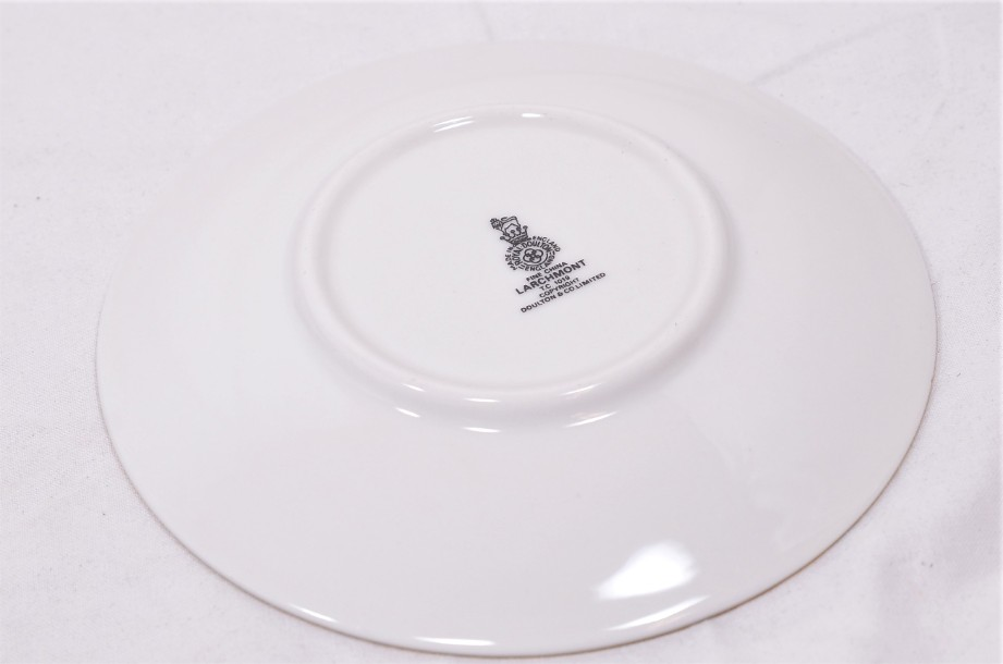Royal Doulton Larchmont six-cup coffee can and saucer set 7