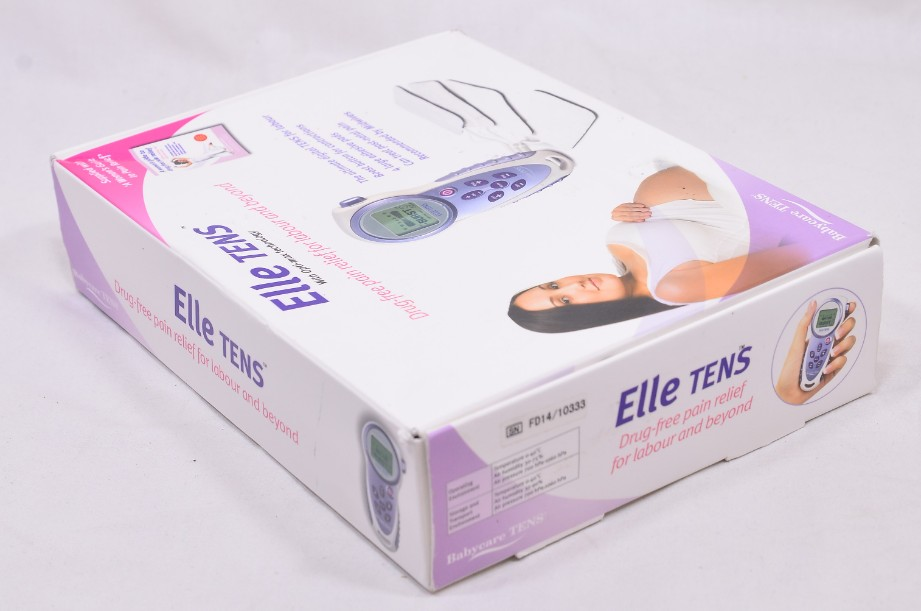 Elle Babycare TENS Machine - Drug Free Pain Relief for Labour and Beyond 11