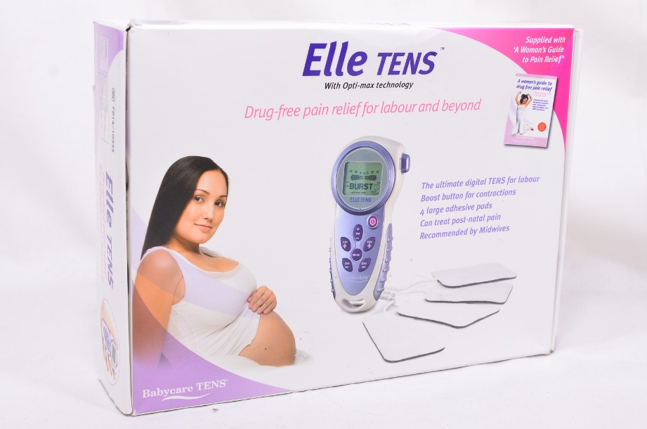 Elle Babycare TENS Machine - Drug Free Pain Relief for Labour and Beyond 2