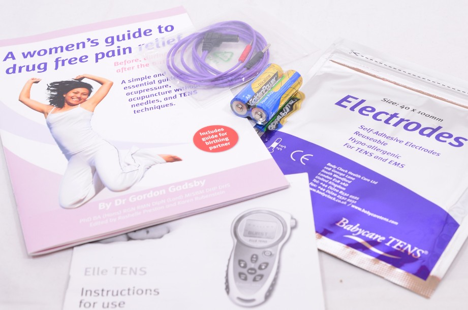 Elle Babycare TENS Machine - Drug Free Pain Relief for Labour and Beyond 9