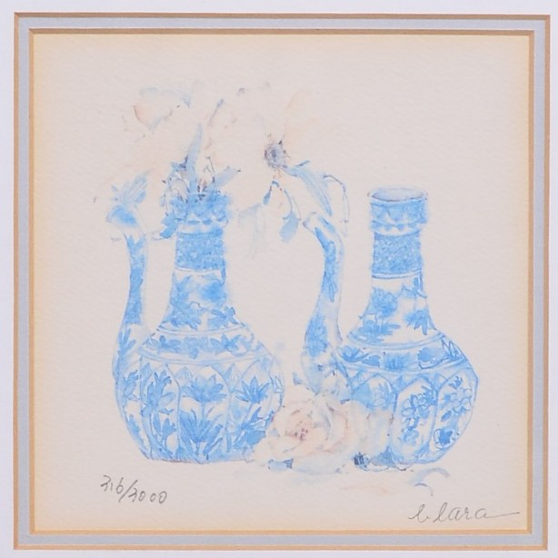 4 Framed and Signed Limited Edition Watercolour Prints by Clara Hung Mei Yee 10