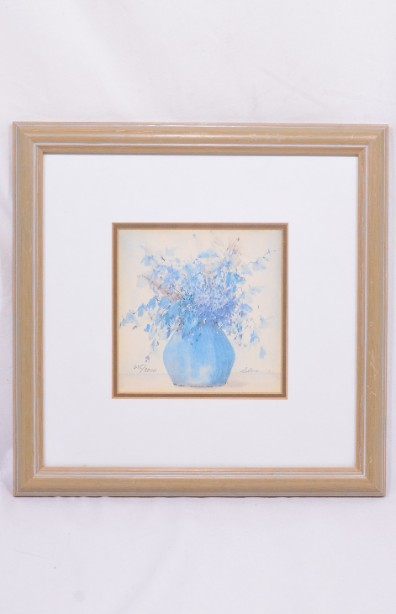 4 Framed and Signed Limited Edition Watercolour Prints by Clara Hung Mei Yee 13