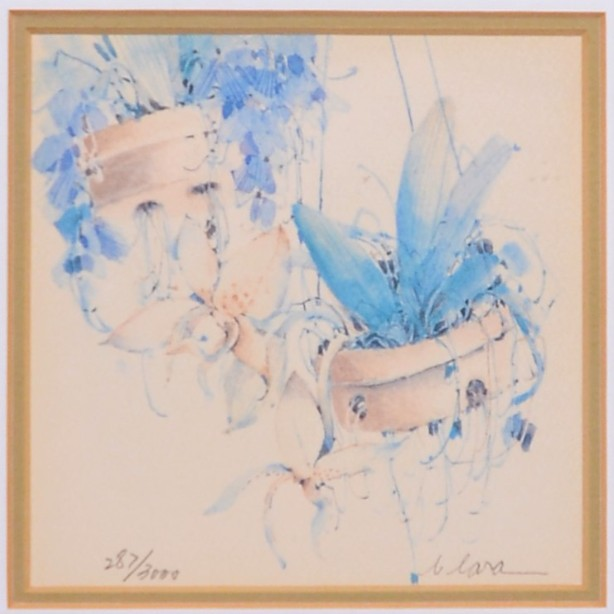 4 Framed and Signed Limited Edition Watercolour Prints by Clara Hung Mei Yee 3