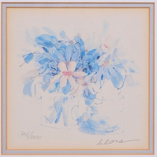 4 Framed and Signed Limited Edition Watercolour Prints by Clara Hung Mei Yee 6