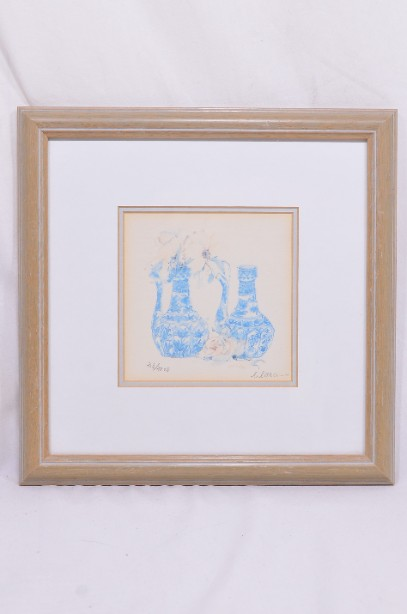 4 Framed and Signed Limited Edition Watercolour Prints by Clara Hung Mei Yee 9