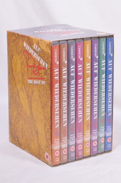The Best of Auf Wiedersehen Pet DVD Box Set from Series 1 and 2