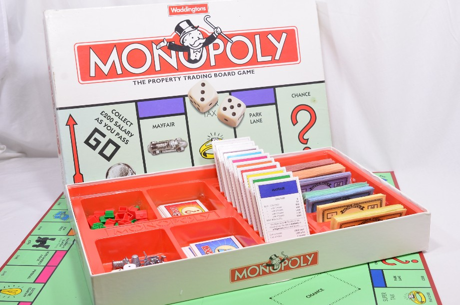 Monopoly Board Game 1996 by Waddingtons 1