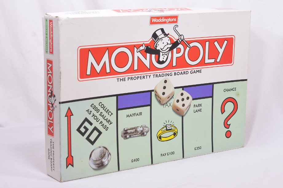 Monopoly Board Game 1996 by Waddingtons 6