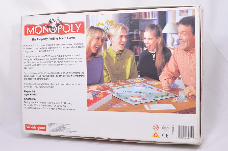 Monopoly Board Game 1996 by Waddingtons 7