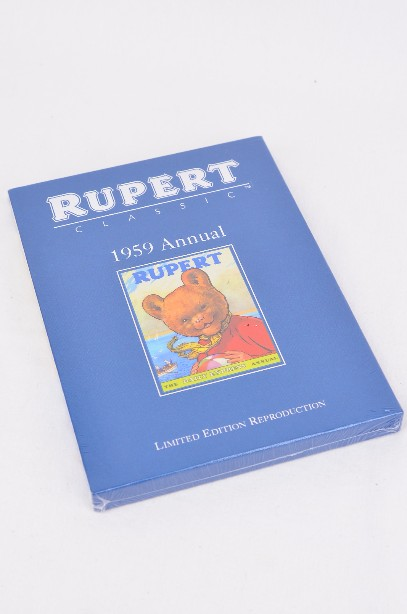 Rupert Bear 1959 Annual - Limited Edition Reproduction (sealed)