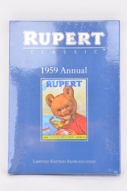 Rupert Bear 1959 Annual - Limited Edition Reproduction (sealed) 2