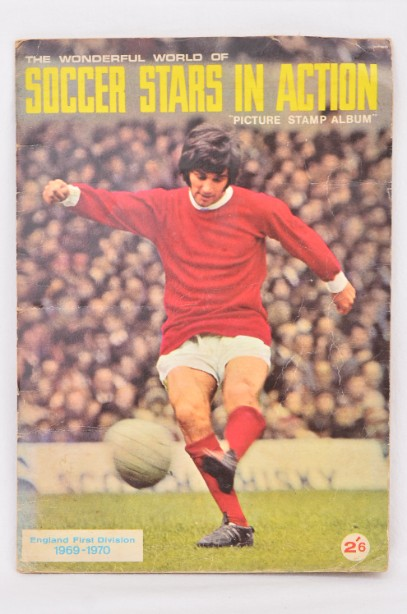 Soccer Stars in Action 1969-70 Picture Stamp Album 1969 - 1970