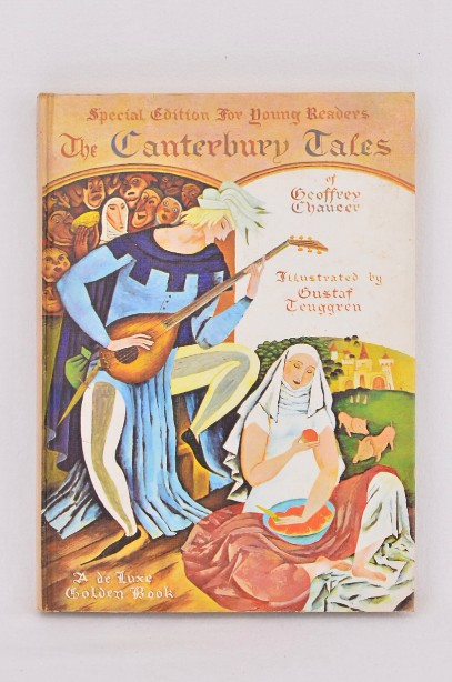 The Canterbury Tales by Chaucer - young people's illustrated edition 1968