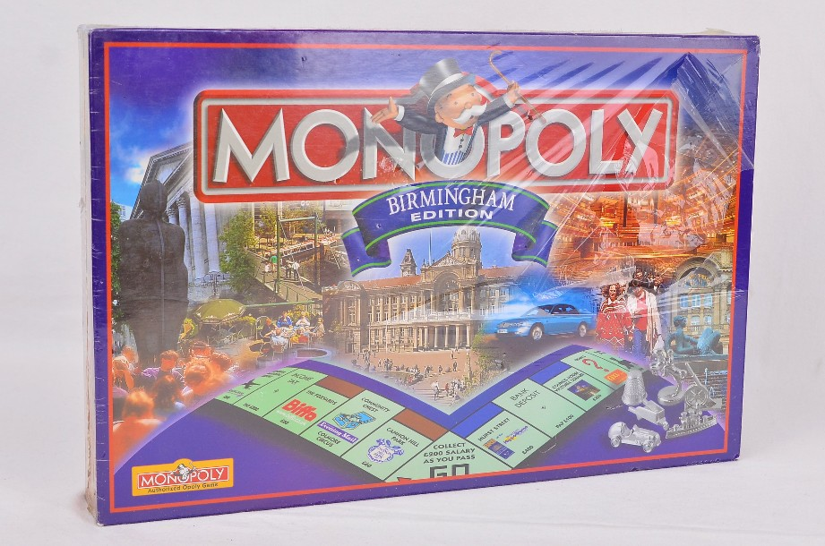 Monopoly Birmingham Limited Edition 2000 By Hasbro - new and sealed 1
